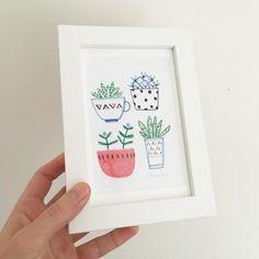Framed lots of my illustrations this weekend #framing #sellingprints #illustrator #illustration by sallypayne_design