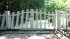 Crowned Chestnut Hill Automated Driveway Gate