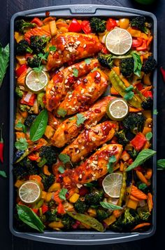 As a well-established one-pot recipe fanatic, it should come as no surprise that their oven-based brethren,sheet pan recipes, have found their way into my heart. Place veggies, meats, sauces, and more on one tray, then simply roast away? Yeah, you know I'm in. Now, I'm not some sort of weirdo who'd pick veggies over a...Read More »