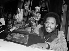 Archie Griffin - two time Heisman Trophy winner from Ohio State University (shown here in Buckeyes Football, Ohio State Football, Ohio State University, Ohio State Buckeyes, Buckeye Sports, College Football, Heisman Trophy, Today In History, Thing 1