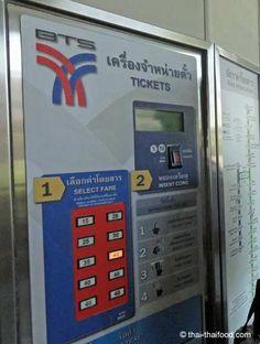 BTS Ticketautomat Bangkok, Ticket, Office Phone, Landline Phone, Red