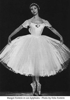 Prima Ballerina Assoluta. The ever-gorgeous Margot Fonteyn