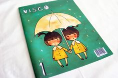 visco : magazine by Jun Kim, via Behance Jun, Behance, Magazine, Illustration, Projects, Design, Log Projects, Blue Prints, Illustrations