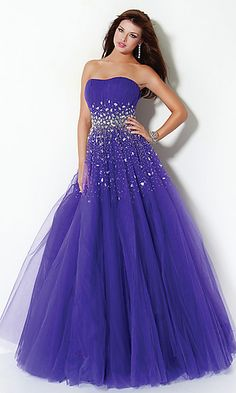 Designer Ball Gown by Jovani 3075 at SimplyDresses.com