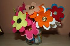 Craft and Other Activities for the Elderly: An Easy Felt Flower to Make
