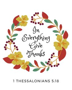 Bible Verse Wall Art for Thanksgiving
