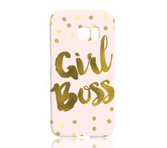 Girl Boss Phone Case - Samsung Galaxy S7 Edge