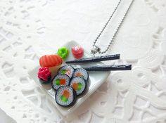 Kit gourmand collier gourmand petits sushis par LaFeeGourmande