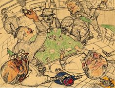"drawing by Enrico Robusti from the book ""Sun and snow"", on straw paper www. Stefan Zweig, Old Art, Painting Techniques, Caricature, Figurative, Art Inspo, Art Drawings, Portugal, Vintage World Maps"