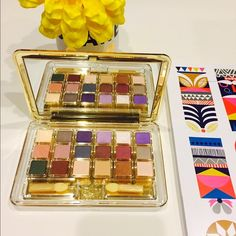 New Estée Lauder Deluxe Pure Color Eyeshadows Pure Color 18 shades eyeshadows in satin, shimmer, and matte. Long wearing, pigmented, easily to blend, compact, luxurious and travel friendly packaging, big zoom-in mirror, awesome shade selection. One can buy the shades individually at $22 for 0.07 oz each. Untouched / never used. Estee Lauder Makeup Eyeshadow