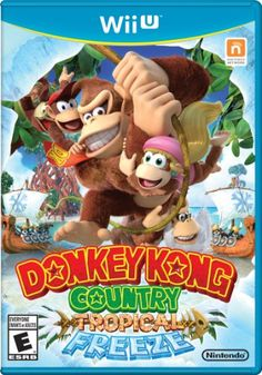 Buy Donkey Kong on Wii U at Mighty Ape NZ. Help Donkey Kong and his friends get back their home from Vikings in the Donkey Kong Country: Tropical Freeze game from Retro Studios. Nintendo 2ds, Nintendo Wii U Games, Nintendo Switch Games, Wii Games, Gameboy Pokemon, Super Nintendo, Arcade Games, Xbox 360, Playstation