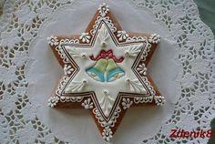 Perníková vánoční hvězda