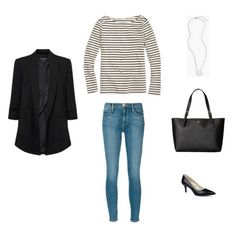 French Minimalist Capsule Wardrobe Spring 2017 - outfit #27