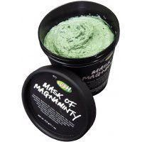 LUSH Mask of Magnaminty.  It smells like Mint Chocolate Chip ice cream.  What more could you want?
