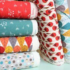Charlie Harper Flannel from Birch Fabrics - Modern Domestic