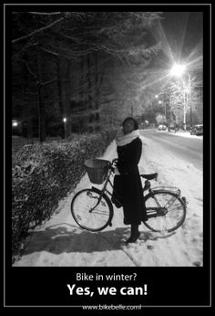 bike in winter? Yes, we can!