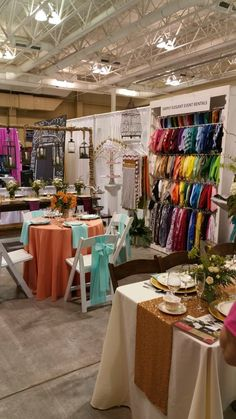 Simply Elegant Event Rentals @ Southern Bridal Show in Charleston 2/15/15