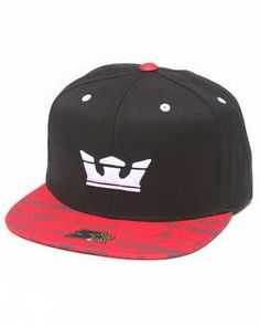 Love this Icon Starter Snapback Cap by Supra on DrJays. Take a look and get 3533ac75c5d3