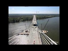 VIDEO: Last piece of East End Bridge spanning Ohio River set in place…