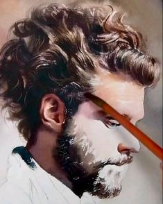 Watercolor Portrait Tutorial, Watercolor Portrait Painting, Watercolor Art Face, Watercolor Paintings For Beginners, Watercolor Illustration, Potrait Painting, Portrait Art, Hyperrealism Paintings, Architecture Drawing Sketchbooks