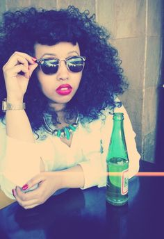 """Warsan Shire - My favorite poet.  She's absolutely amazing. I'm going to paint her for my """"woman defined"""" collection."""