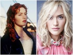 What Our Favorite Actors from Titanic Look Like After 20 Years Kate Winslet And Leonardo, Titanic Movie, Beauty Forever, Jessica Alba, Leonardo Dicaprio, Movie Characters, Then And Now, 20 Years, Movies And Tv Shows