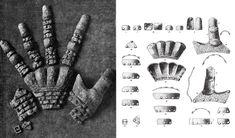 Rękawice z Wisby nr 3, połowa XIV wieku./Gauntlets from Wisby n. 3, mid. XIV c.
