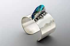Layered Mount-ains cuff - Art Jewelry Magazine - Jewelry Projects and Videos on Metalsmithing, Wirework, Metal Clay