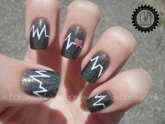 Are you a nurse looking for great nail art? Or are you a nail artist looking for nurse nails art and designs? Check out all 100 choices! Gorgeous Nails, Pretty Nails, Fun Nails, Amazing Nails, Nurse Nails, Nail Designs 2014, Kawaii Nail Art, Heart Nail Art, Favim