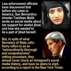 She was 'Vetted' as Well as Obama Was...