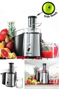 Juice Fountain Plus 850-Watt Juice Extractor Includes Free E-Recipe Book 110V #Gourmia
