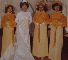 Ugly Vintage Bridesmaid Dresses
