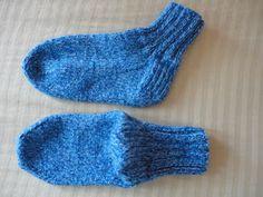Teia de Carinhos: Meias em tricô
