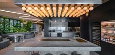 Collective design oasis in the sky for Tatler Asia Hong Kong HQ Canteen, Oasis, Hong Kong, The Neighbourhood, Indoor, Sky, Collection, Design, Interior