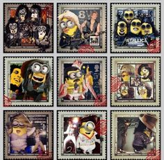 2013 Compilation Minions Legendary Minion Singers