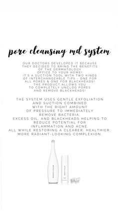 Pore Cleansing, Unclog Pores, Blackhead Remover, Cleanse, Tips, Counseling