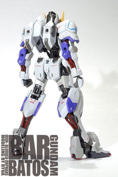 GUNDAM GUY: HG 1/144 Gundam Barbatos [Anime Color Ver.] - Painted Build