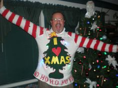 Rapid Panda Express: Ugly Christmas Sweater (Grinch inspired)