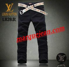 Vendre Jeans Louis Vuitton Homme H0023 Pas Cher En Ligne.