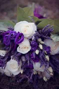 La Maison Lavande www.maisonlavande.ca lavender wedding flowers