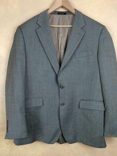 LAUREN Ralph Lauren Herringbone 100% Wool Suit Jacket Blazer Sport Coat 44R  | eBay