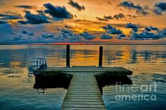 Walking Into The Sunset by Olga Hamilton