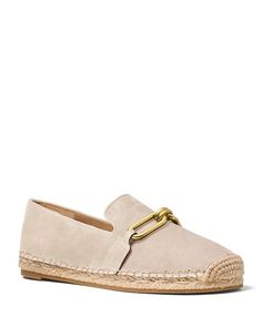 Michael Kors Collection Lenox Espadrille Flats