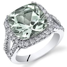 4.75 Carats Cushion Cut Green Amethyst Ring In Sterling Silver Size 5 Peora http://www.amazon.com/dp/B00GZ62N2G/ref=cm_sw_r_pi_dp_w32Otb1VE8FP8BEG