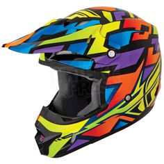 2015 Fly Racing Kinetic Block Out Helmet - Wild
