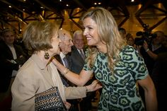 Queen Maxima and her mother