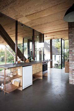 Peter Grundmann - Neiling II low budget house, Hoppenrade 2016.