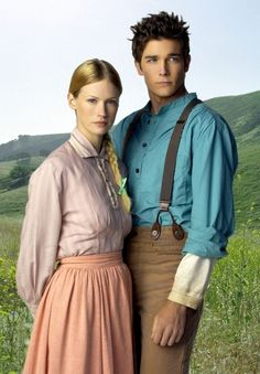 January Jones and Logan Bartholomew in Love's Enduring Promise...the best movie in the whole series, hands down