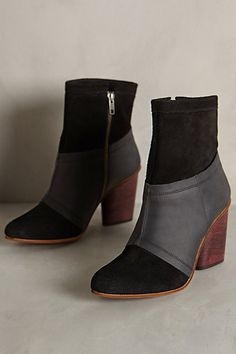 J Shoes Julianne Booties - anthropologie