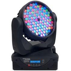Elation Design Wash LED Zoom WH - White Case - 320W, 108 x 3W RGBW Moving Head w/ Zoom
